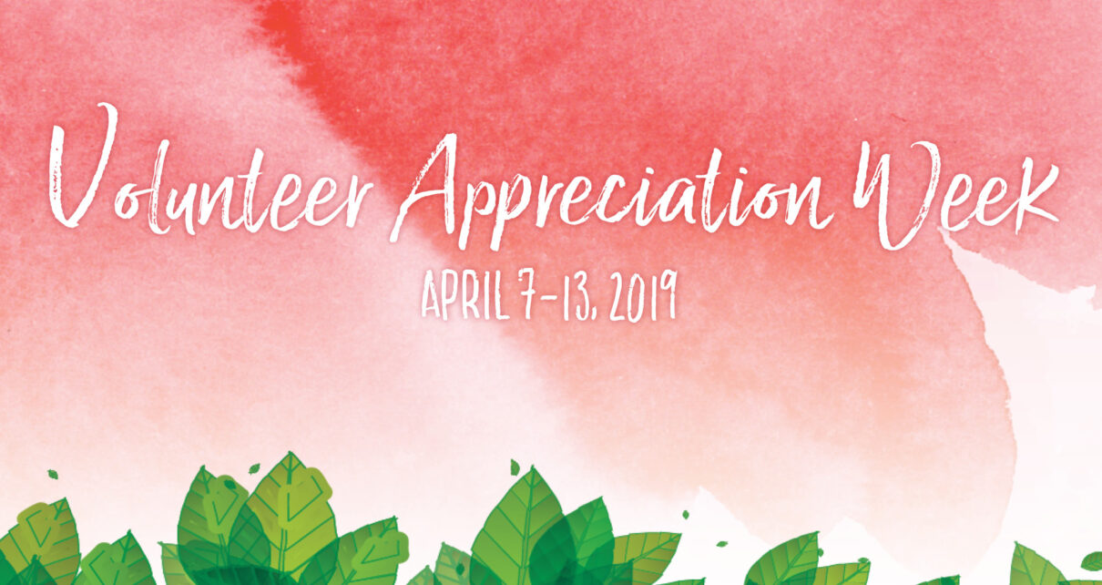 Volunteer Appreciation Week